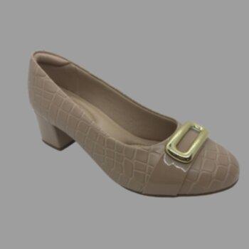 P-sapato Croco Det.fivela Dourada Modare