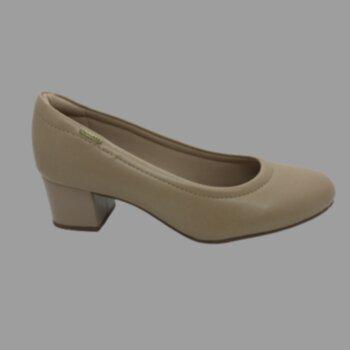 P-sapato Salto Médio Vernizado Modare