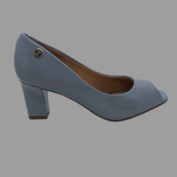P- Sapato Basico Verniz Salto Medio Vizzano