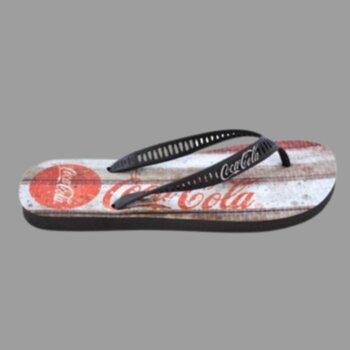 P- Chinelo Masc.estampado Coca Cola