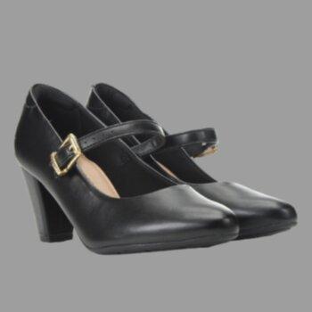 P- Sapato Fem. Boneca Salto Quadrado Modare